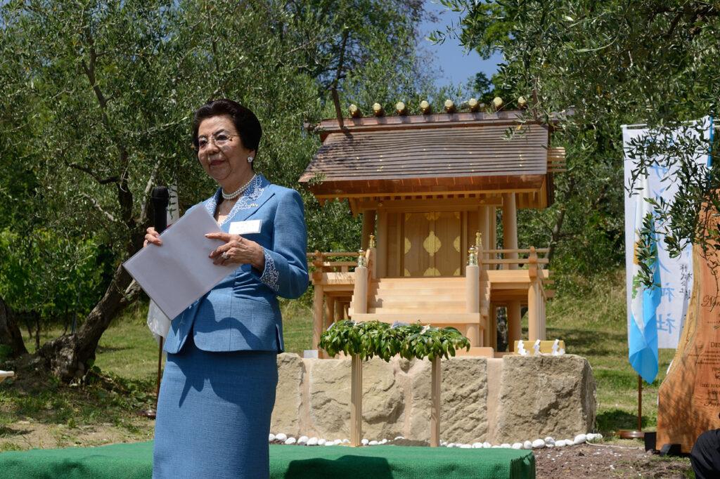 Madre primo ministro giapponese