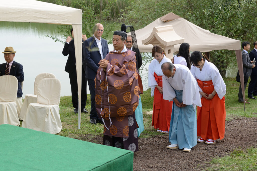 Celebrazione Shintoista