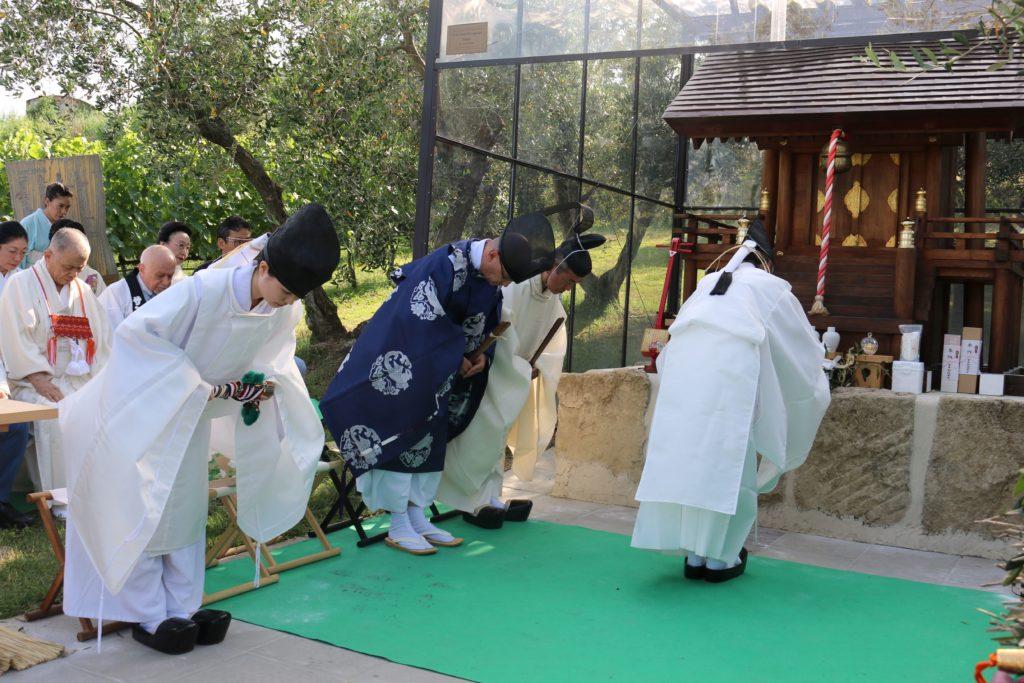 Cerimonia Nippon Matsuri San Marino
