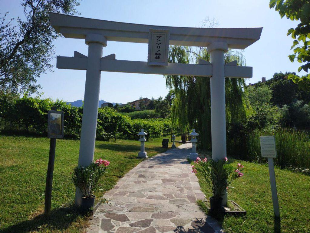Torii at San Marino Jinja