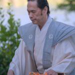 shinto priest at Nippon Matsuri 2019 ceremony at San Marino Jinja