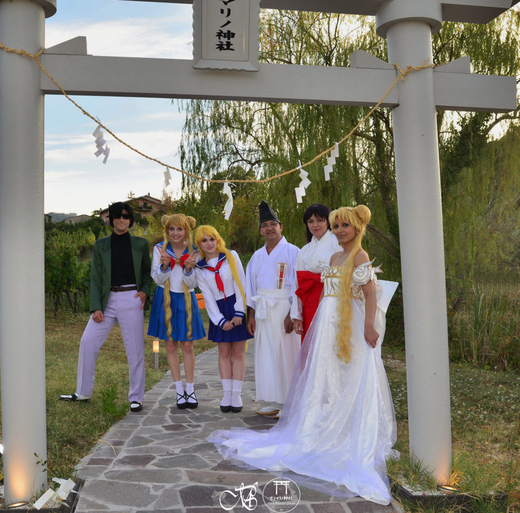 sailor moon san marino jinja friendship cosplay