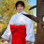 san marino jinja rei hino miko cosplay bianca