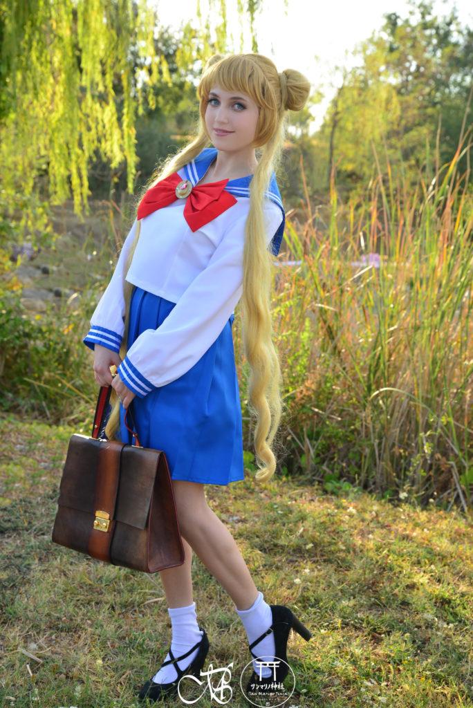 usagi tsukino san marino jinja cosplay